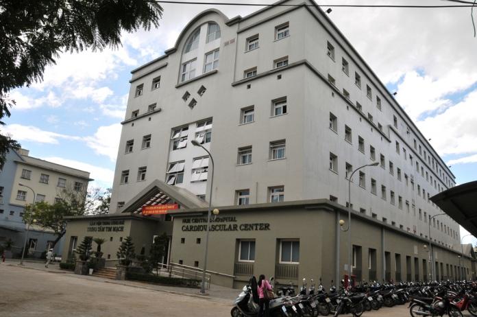 the hue city hospital, hue, vietnam