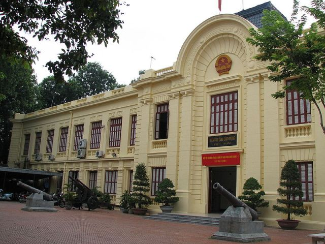 Museum of the Vietnamese Revolution in Hanoi