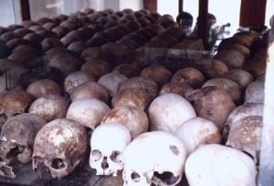 Killing Fields of Choeung Ek in Phnom Penh