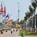 Sisowath Quay in Phnom Penh