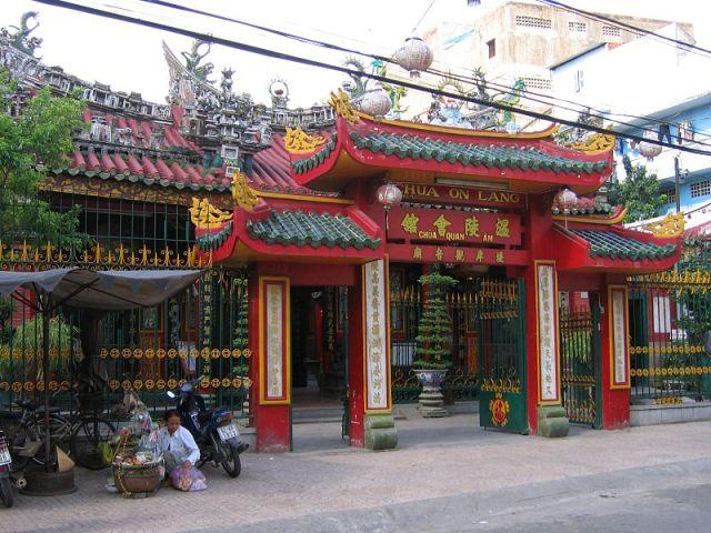 Quan Am Pagoda in Ho Chi Minh
