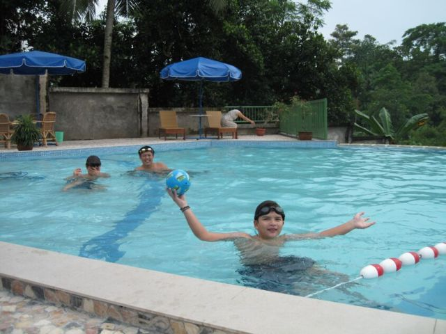 Swimming in Medan