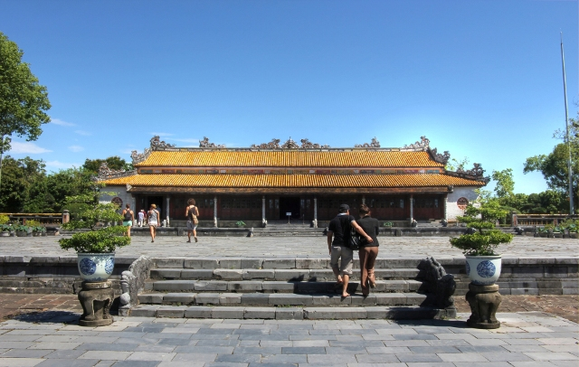 Thai Hoa Palace in Hue