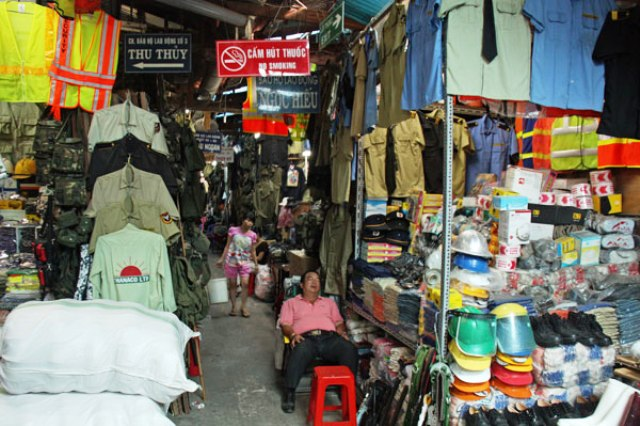 War Surplus Market in Ho Chi Minh
