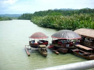 Loboc River in Bohol