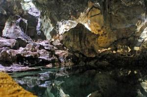 The Hinagdanan Cave in Bohol