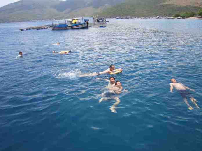 swimming and other water sports, vietnam, nha trang