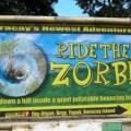 the zorb park