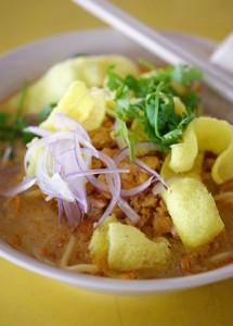 local delicacy in myanmar