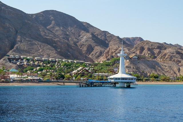 underwater, observatory, eilat, israel