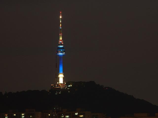 tower, korea, seoul