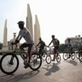 cycling around bangkok
