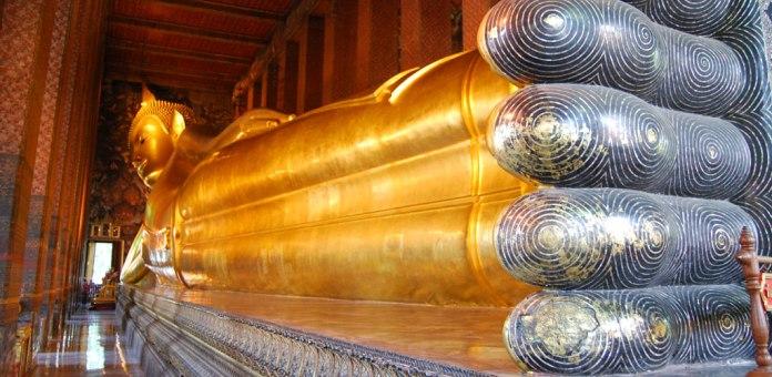 Temple of the Reclining Buddha in Bangkok