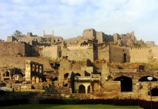 fort, india, hyderabad