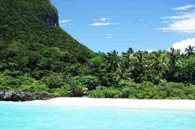summer paradise island, fiji