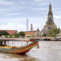 touring, canal, bangkok