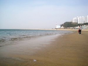 dadaepo beach, south korea, busan