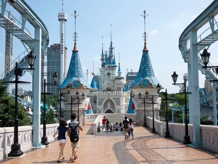 lotte world, korea, seoul, theme park