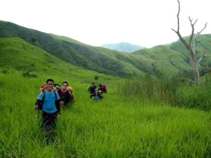 trekking, subic, philippines