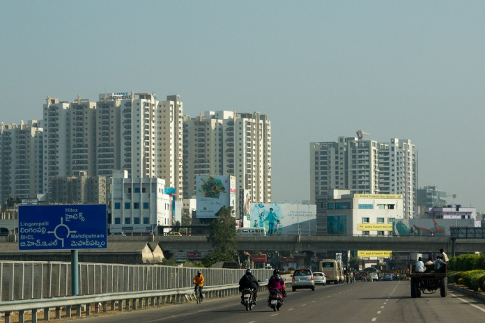 skyline, hyderabad, india