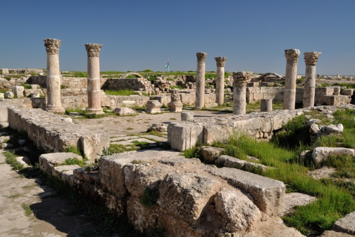 byzantine church, amman, jordan