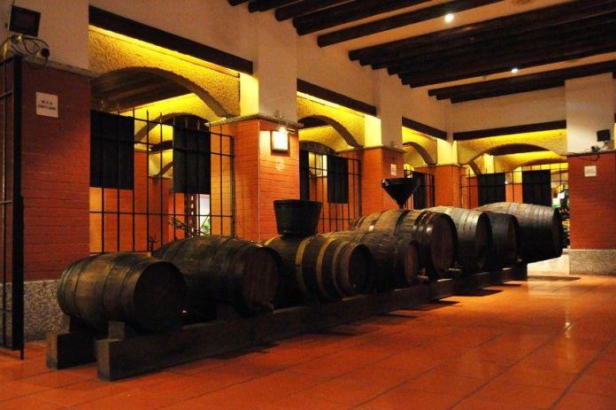 wine museum, exhibit, wine display, macau