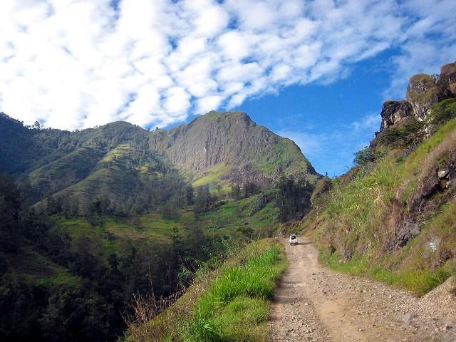 mt wilhelm, papua new guinea, highest peak