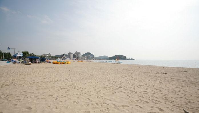songjeong beach, korea, busan