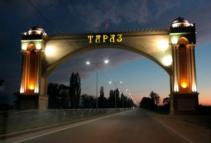 taraz, city of taraz, kazakhstan, gateway