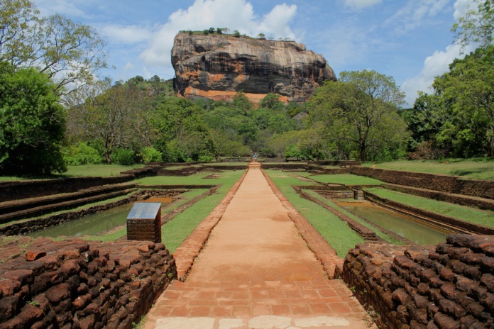rock fortress, sri lanka, UNESCO World Heritage Site