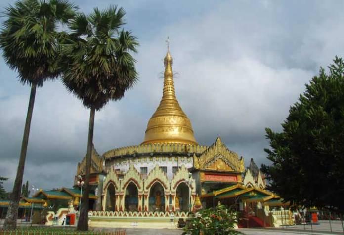 kaba aye pagoda, myanmar,