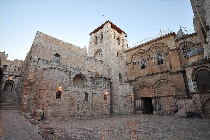 church, holy sepulchre, israel, jerusalem