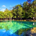 crystal lagoon, krabi, thailand