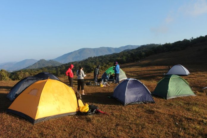 camping, baguio, philippines