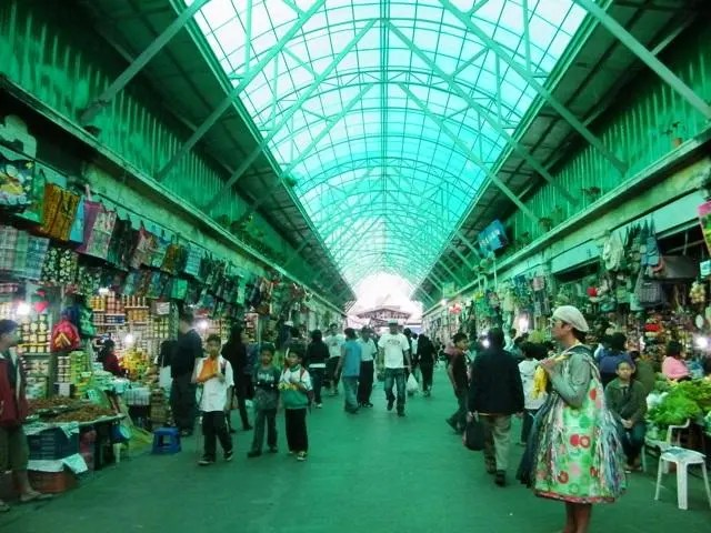 city market, baguio, philippines