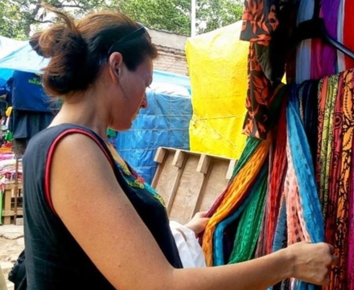 shoppping chennai, india