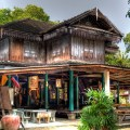 chinese old house, samui, thailand