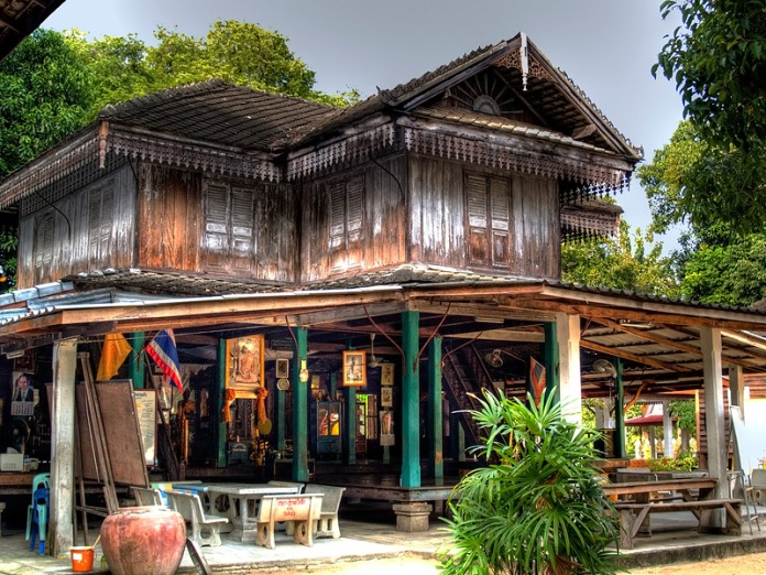 chinese old house, samui, thailand