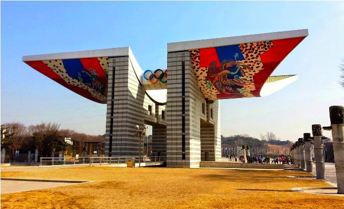 olympic park, seoul, south korea