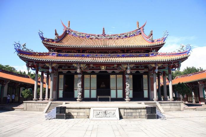 confucius temple, road to heaven taipei