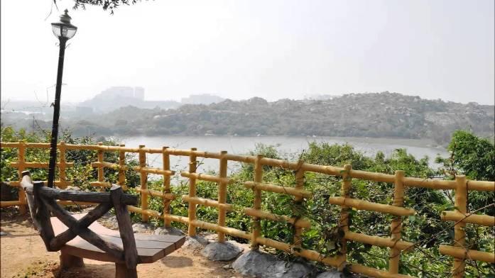 lake, india, hyderabad, durgam cheruvu