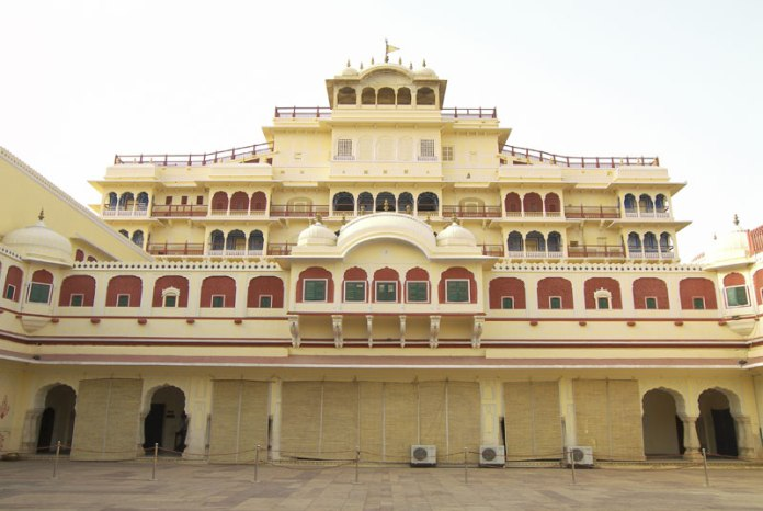 chandra mahal, india,jaipur