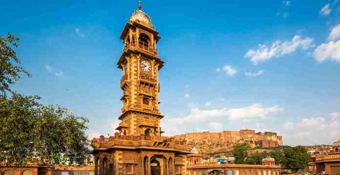 clock house, clock tower, jodhpur, india