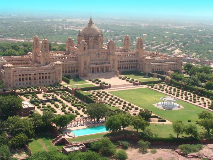 jodhpur, india, palace, umaid bhawan