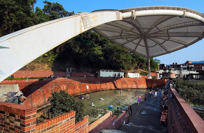 hot springs yilan, taiwan, su-ao cold springs