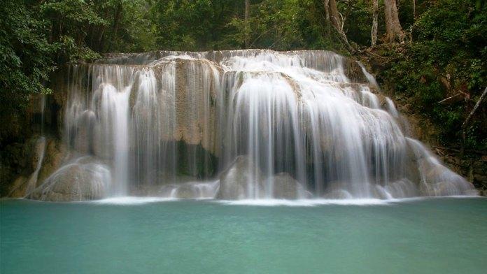 waterfalls, namtok hin lat, samui, thailand