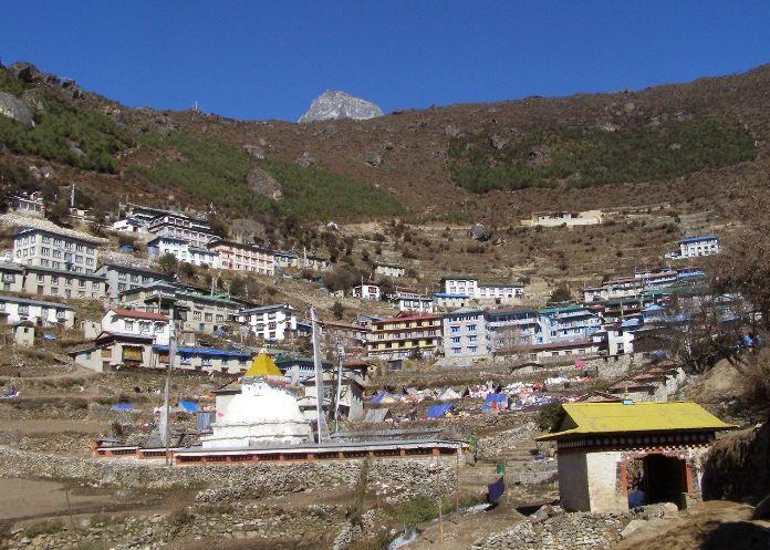 namche bazaar nepal, namche bazaar