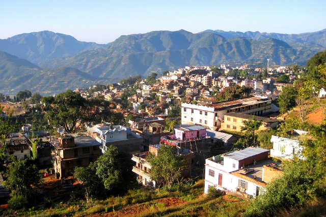 tansen nepal, tansen town,