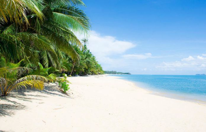 maenam beach, thailand, samui