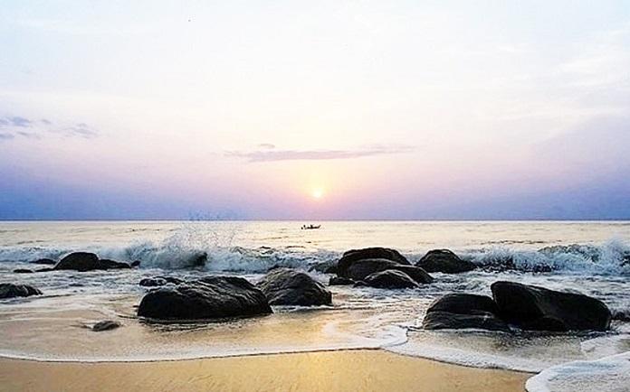 covelong beach, chennai, india